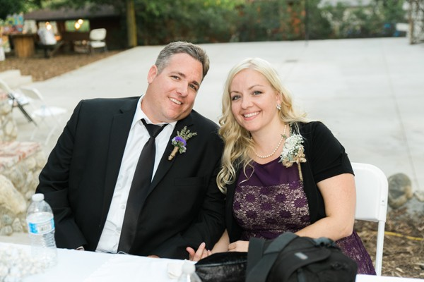 16 years later, at our daughter's wedding. Not so young, nor naive, but still very much in love... even more so.