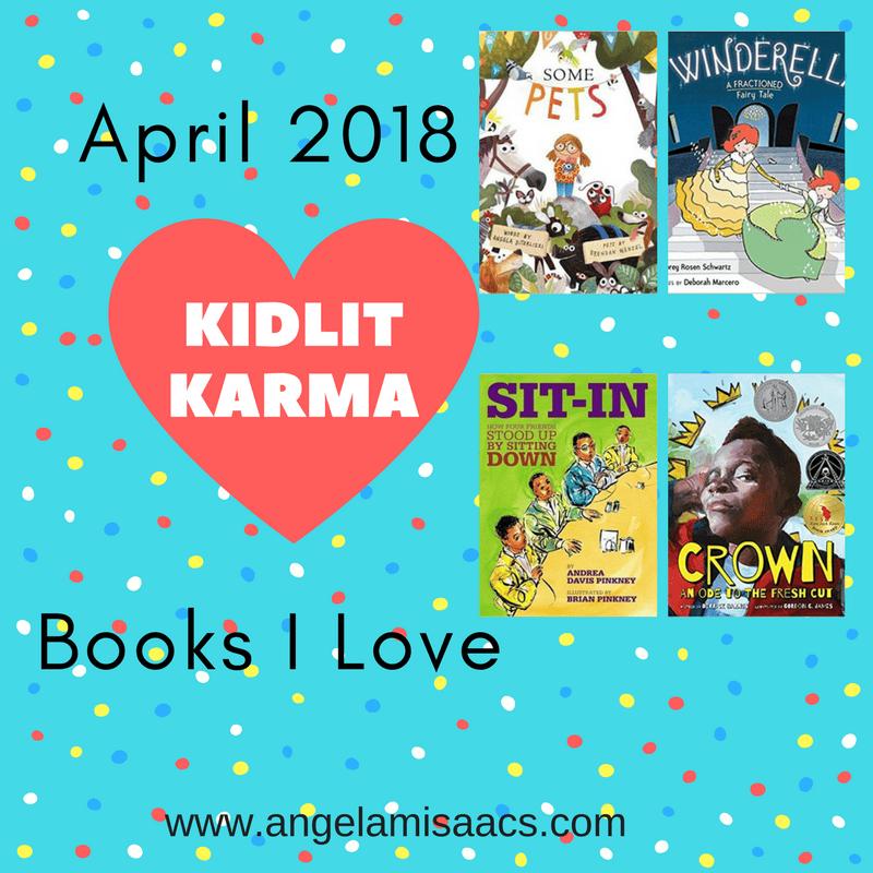 April 2018: Kidlit Karma book reviews