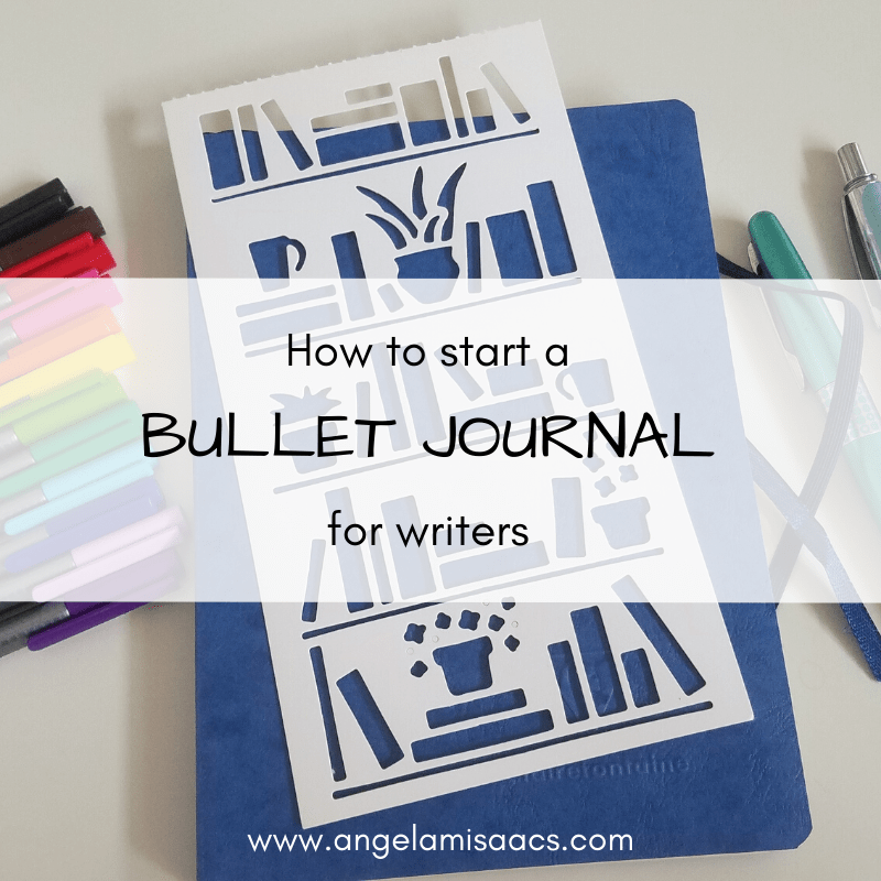 How to start a bullet journal for writers