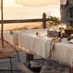 Al Fresco St Tropez Hanging Chair And Cushion Abbyson Living Rocking Summer Cotton Seat From H M Home