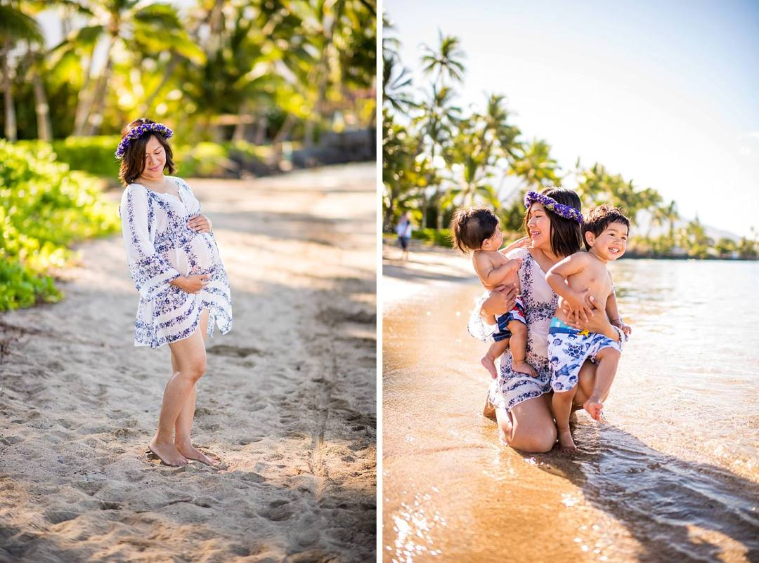 Lahaina Family Photographer - Baby Beach_0015