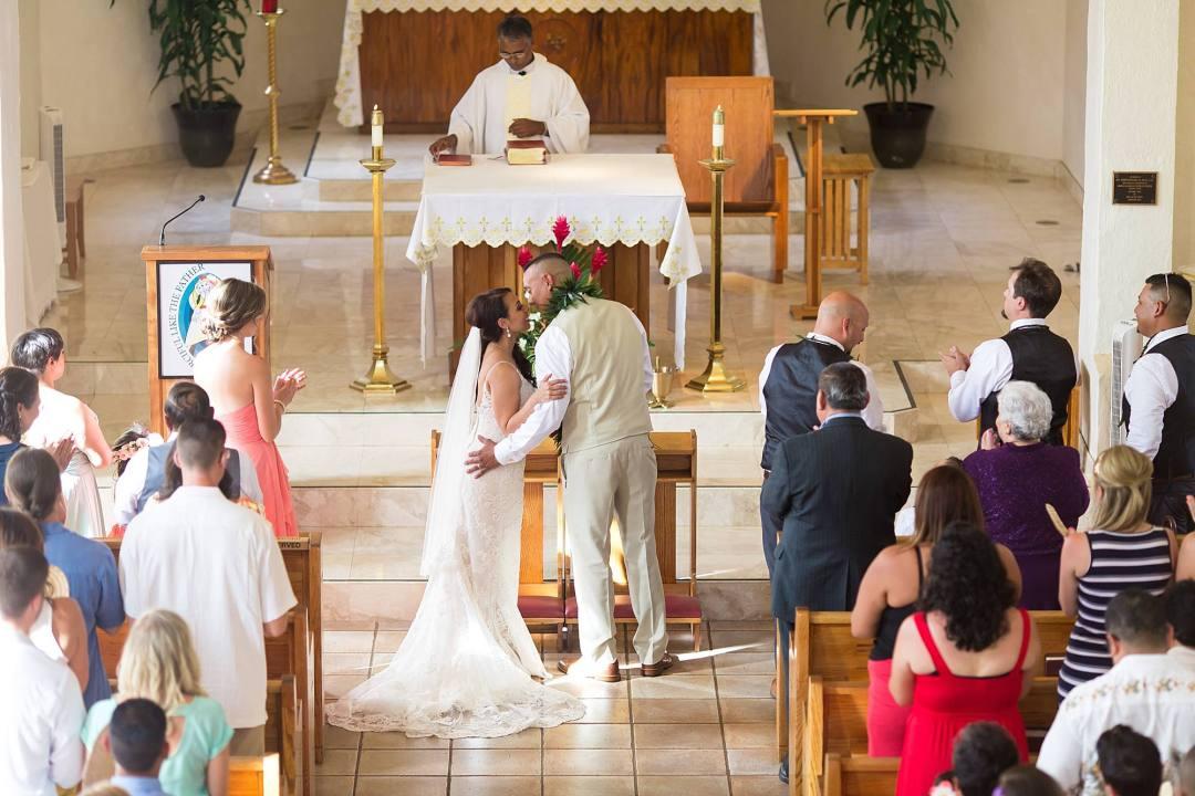 Maui wedding at Maria Lanakila in Lahaina_0025