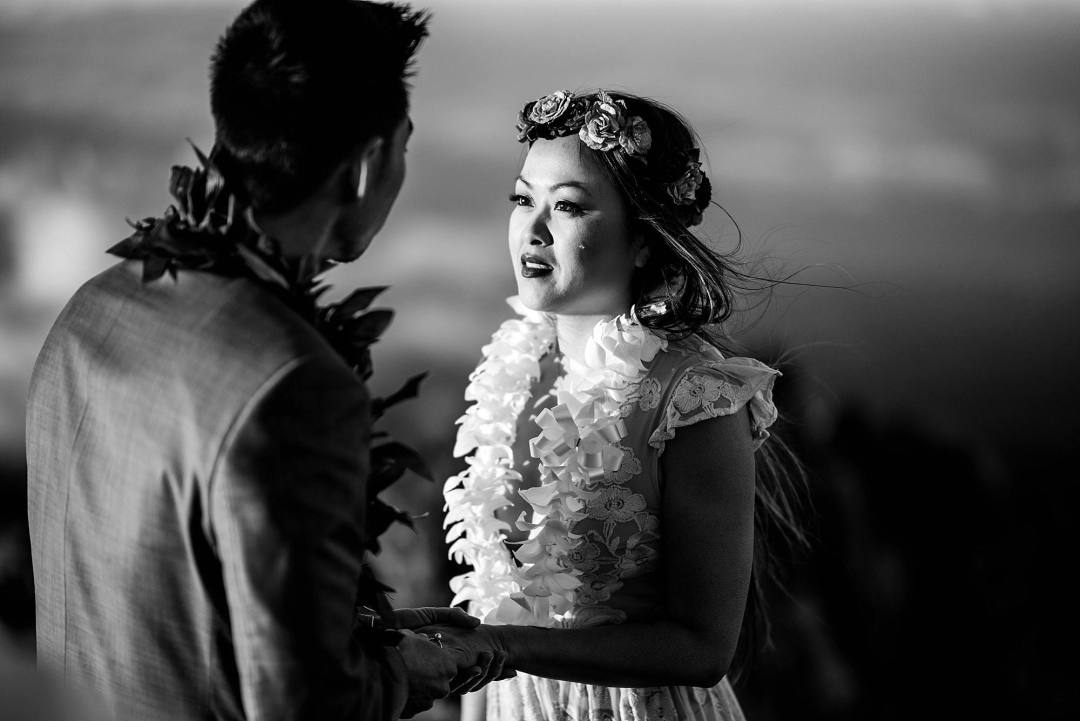 Haleakala elopement in Maui