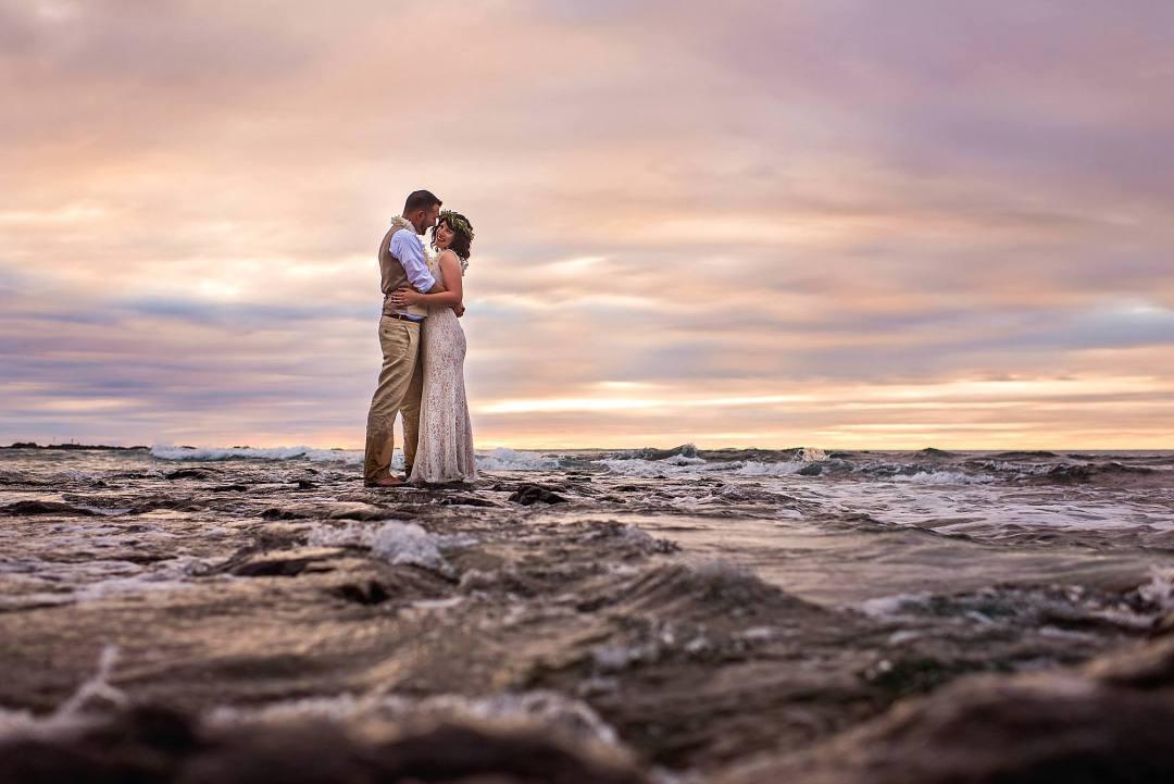 Four seasons at hualai - big island wedding