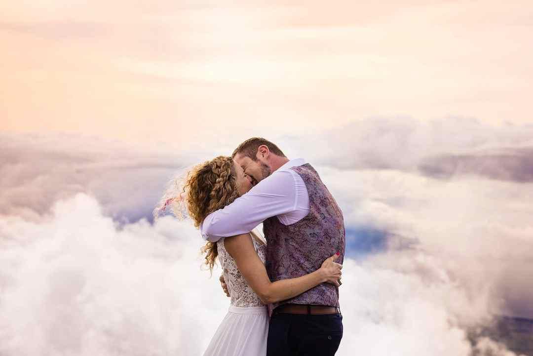 first kiss on haleakala