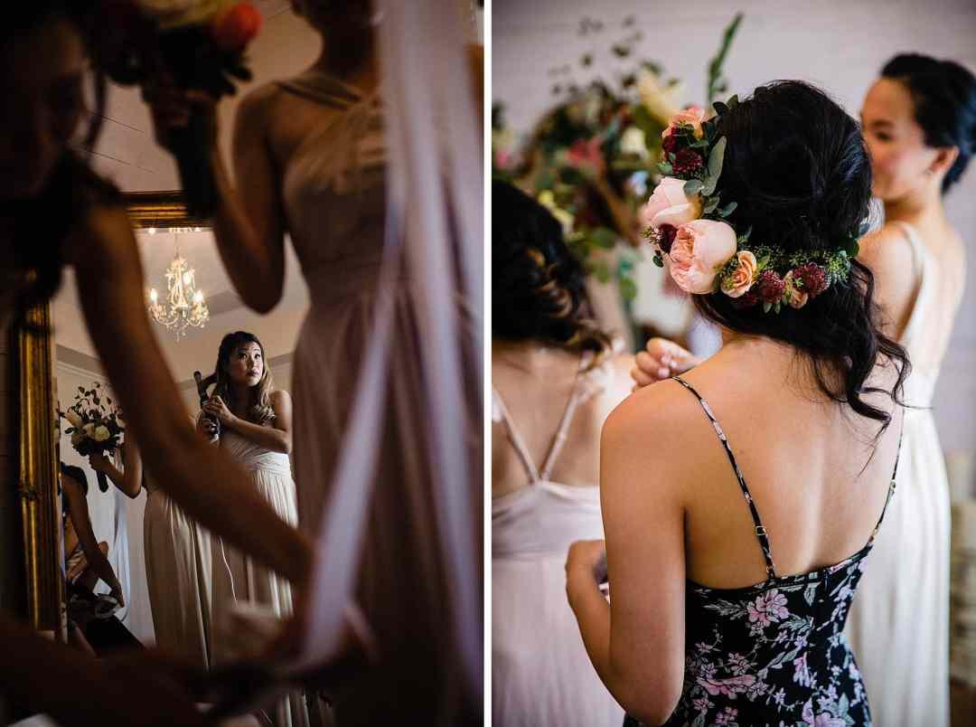 Bridal room at Steeple House Kapalua