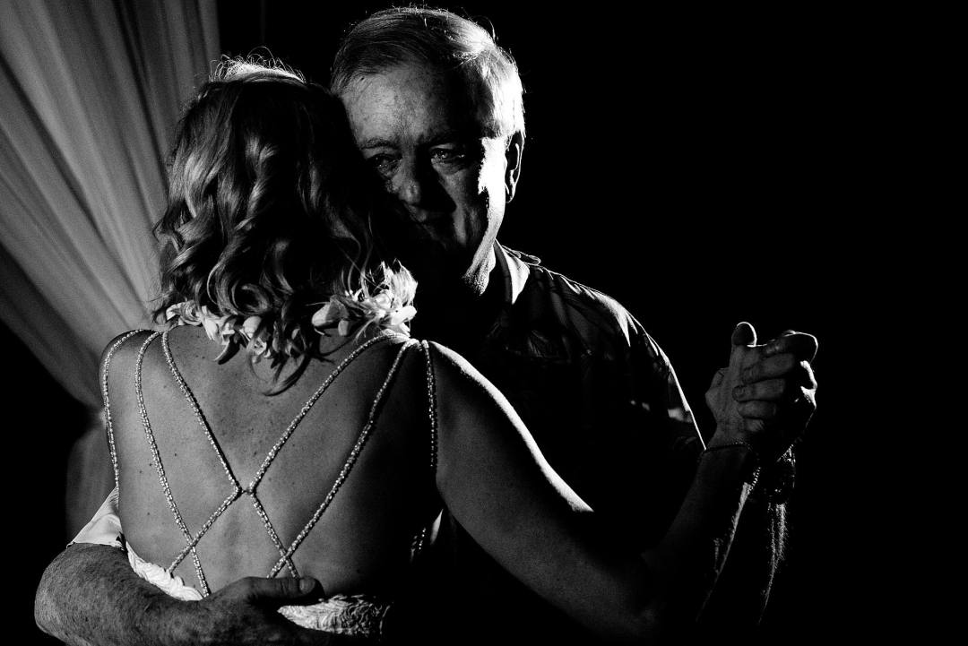 emotional first dance with father of the bride