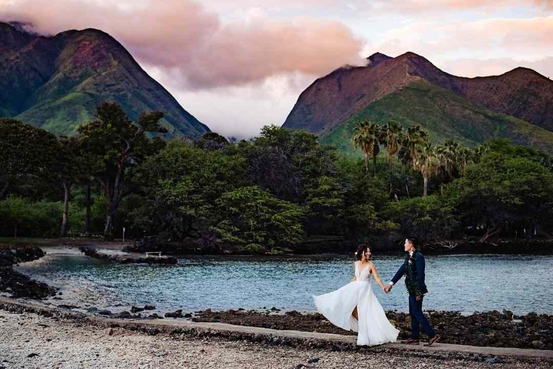 maui wedding venue Olowalu Plantation House