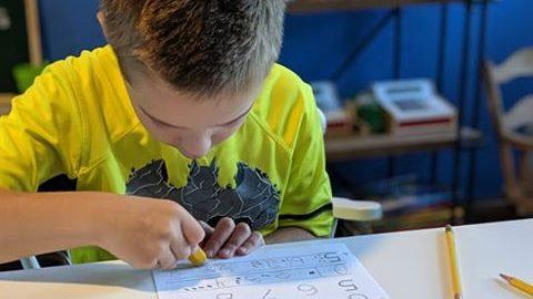 Kids love tear-free Math Lessons!