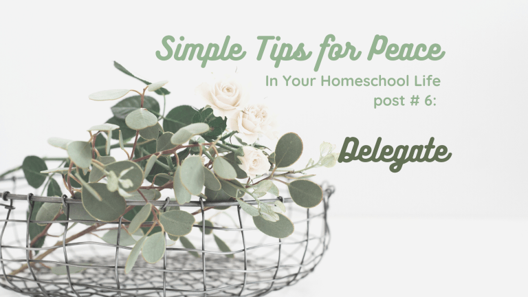 Simple Tips for Peace, part 6