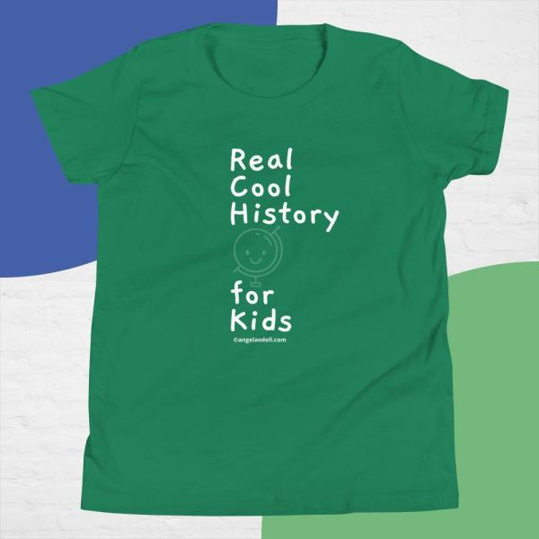 Real Cool History for Kids Shirts & Hats
