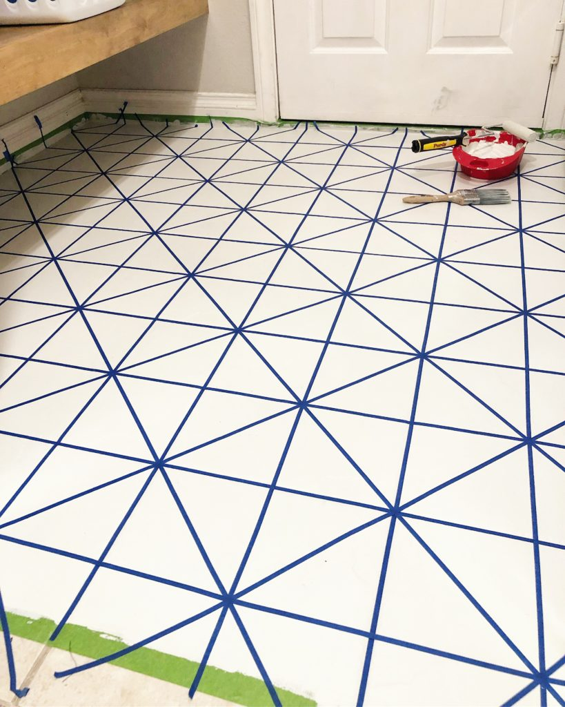 paint your tile floor angela rose home