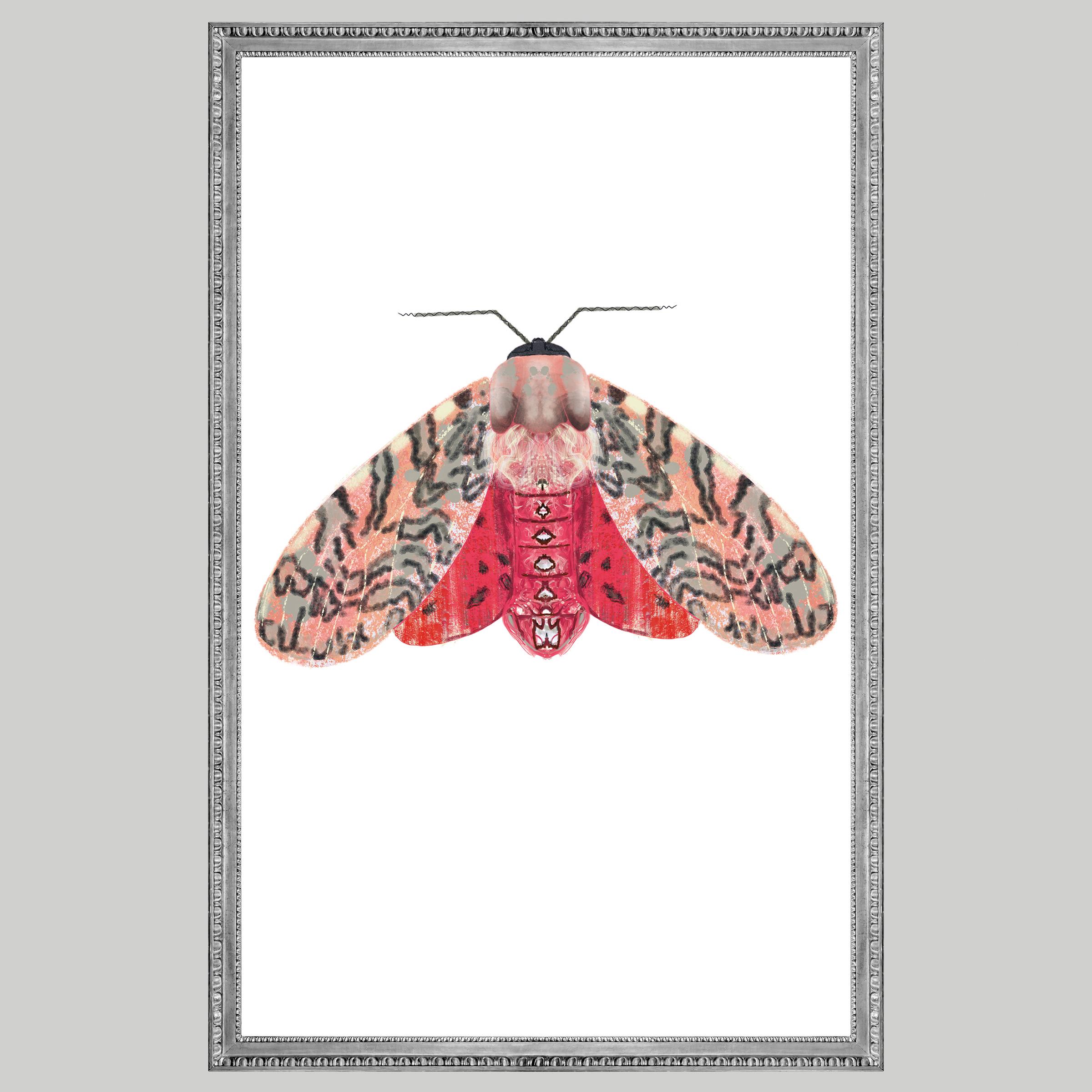 pink mot vlekken, Natuurlijk Angelart, Angela Peters. Illustratie