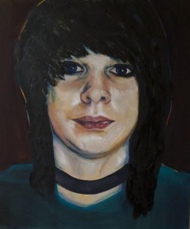 Portretten, portret schilderijen Angela Peters Adolescent