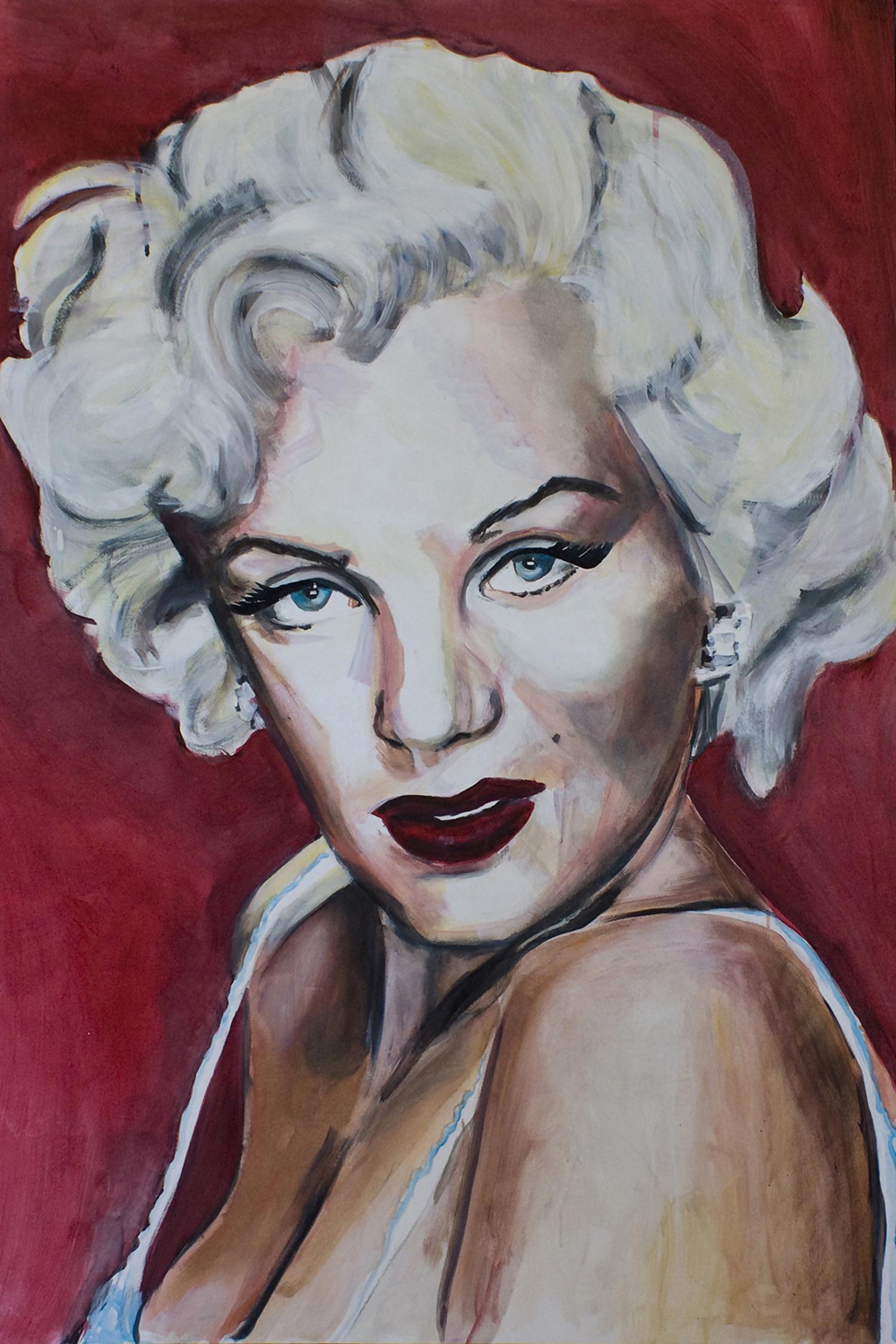 limited edition Giclée Print Marilyn Monroe Angela Peters beeldende kunst