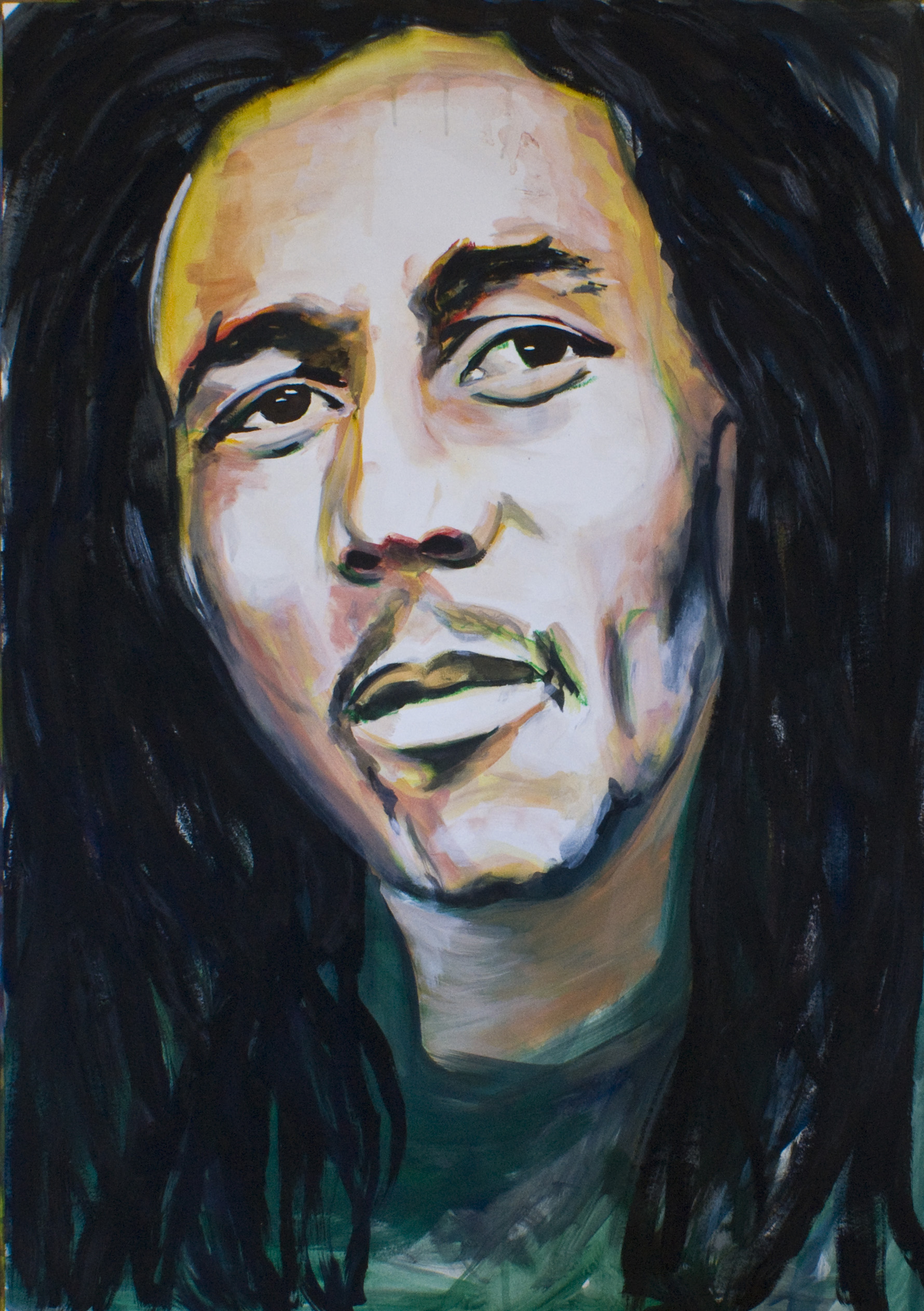 Bob Marley Angelart Kunst&Zo Angela Peters