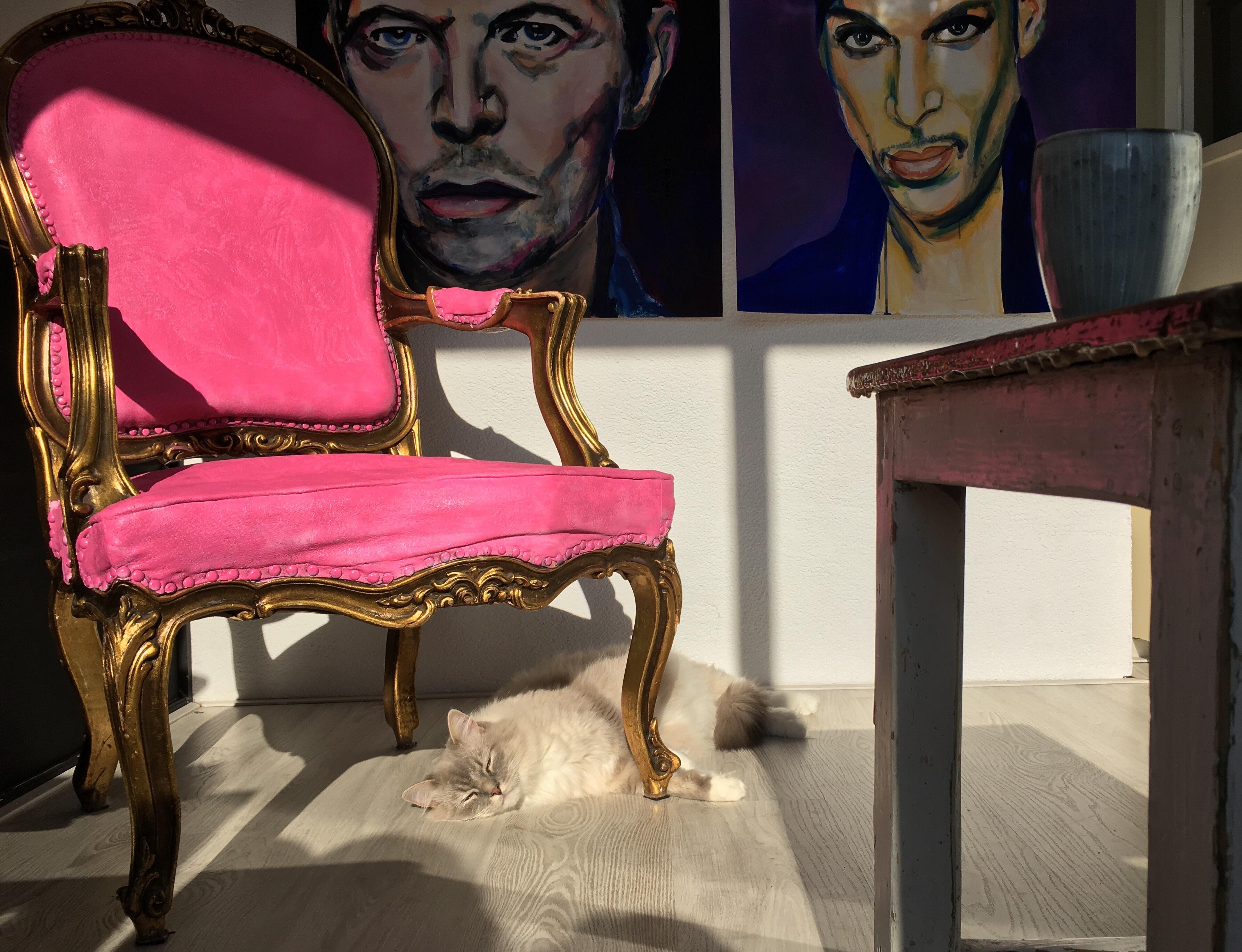 David Bowie en Prince Angelart Kunst@Zo Angela Peters
