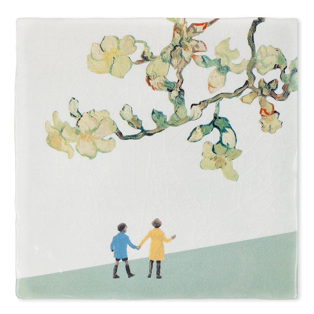 EEN WANDELINGETJE MAKEN Story tiles te koop bij Angelart Kunst en zo, galerie Hattem