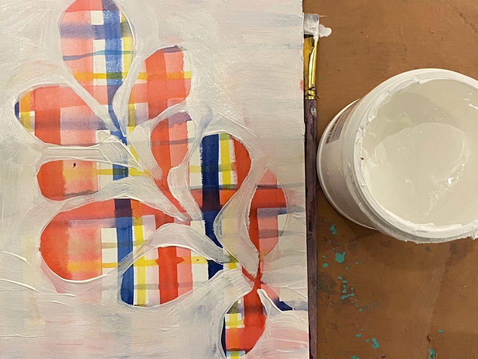 aquarelverf natuurlijk angelart aquarelverf oefeningen Angela Peters overschilderen