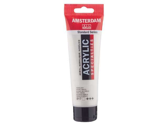 Amsterdam Acrylverf Parelwit 817 specialties