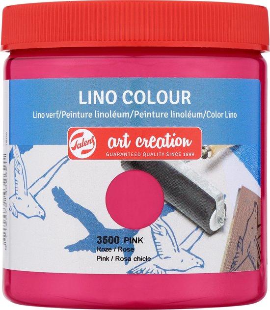 Linoverf Roze