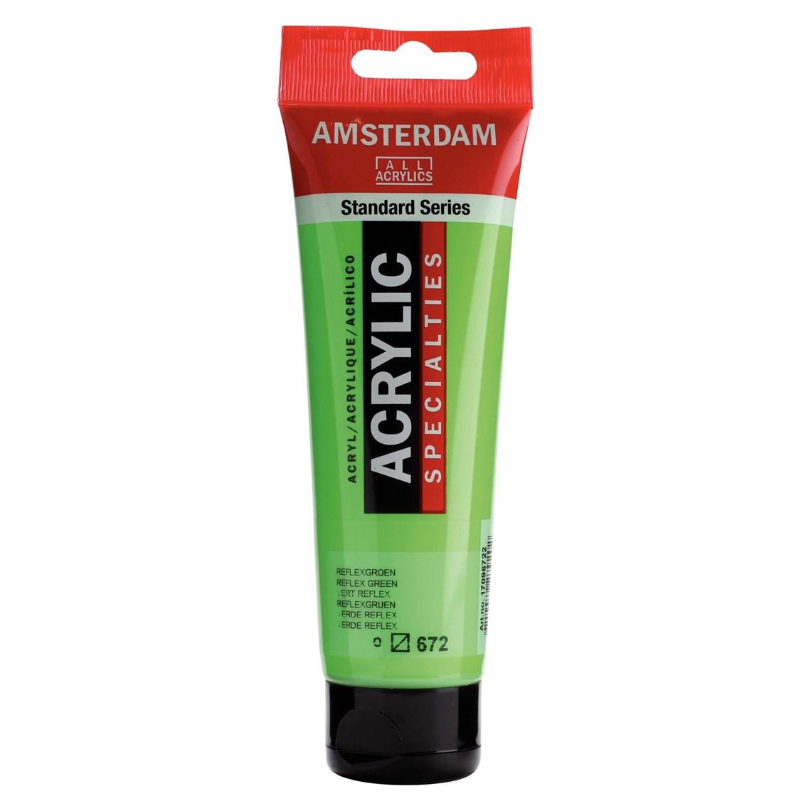 Amsterdam Acryl Reflexgroen 672 specialties