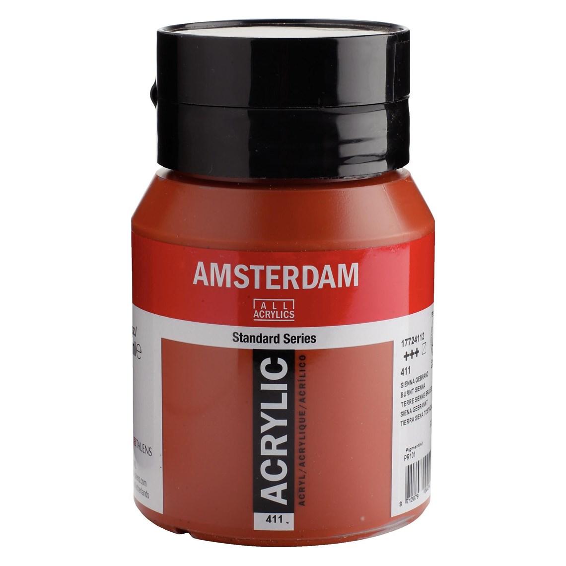 Amsterdam Acrylverf Sienna gebrand 411 Angelart Kunst en zo