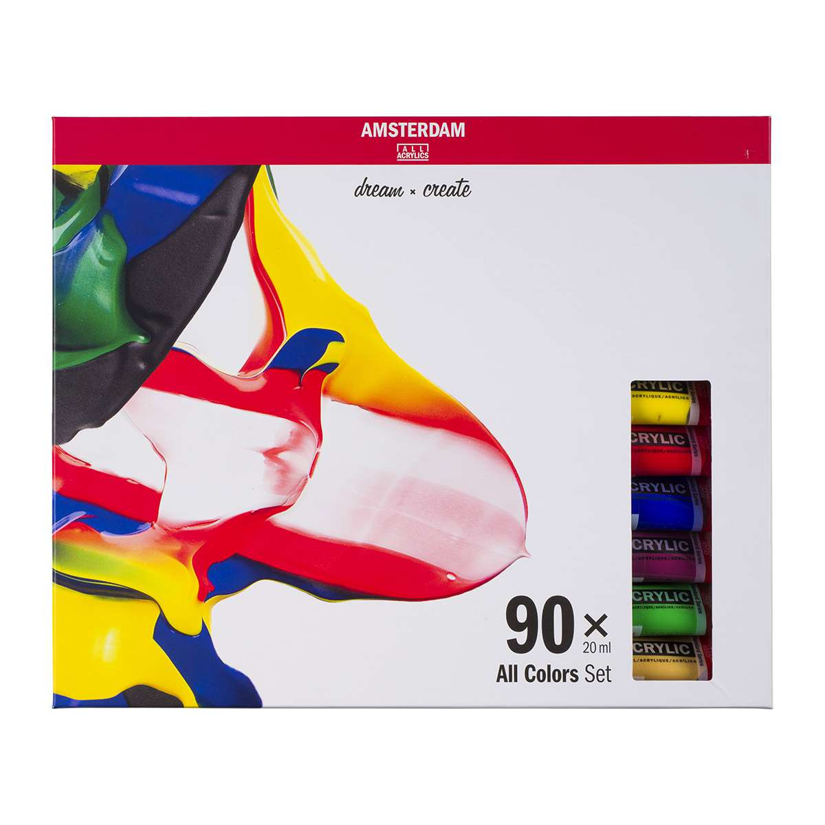 Amsterdam acrylverf Set 90X20 ml