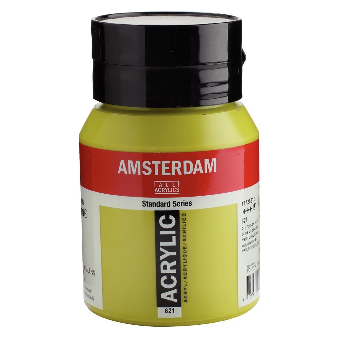Amsterdam acrylverf Olijfgroen licht 621