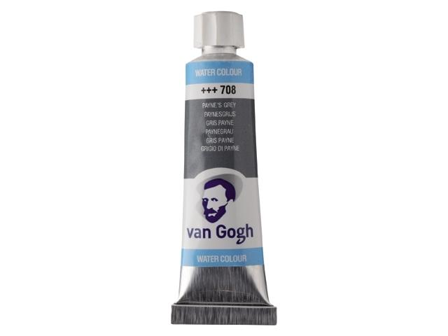 Aquarelverf Paynesgrijs 708 tube 10 ml. Van Gogh