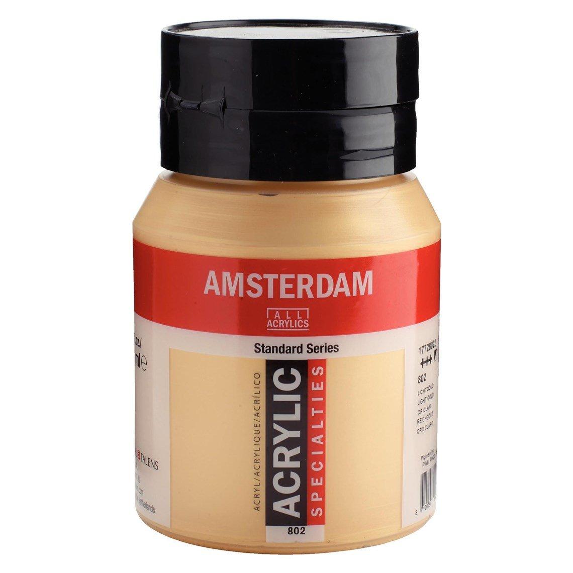 Amsterdam Acryl Lichtgoud 802 specialties