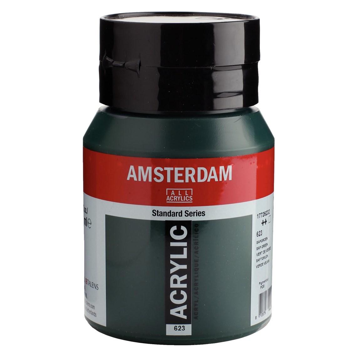 Amsterdam acrylverf Sapgroen 623
