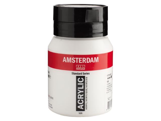 Amsterdam acrylverf Titaanwit 105 Standard Series Angelart Kunst en zo