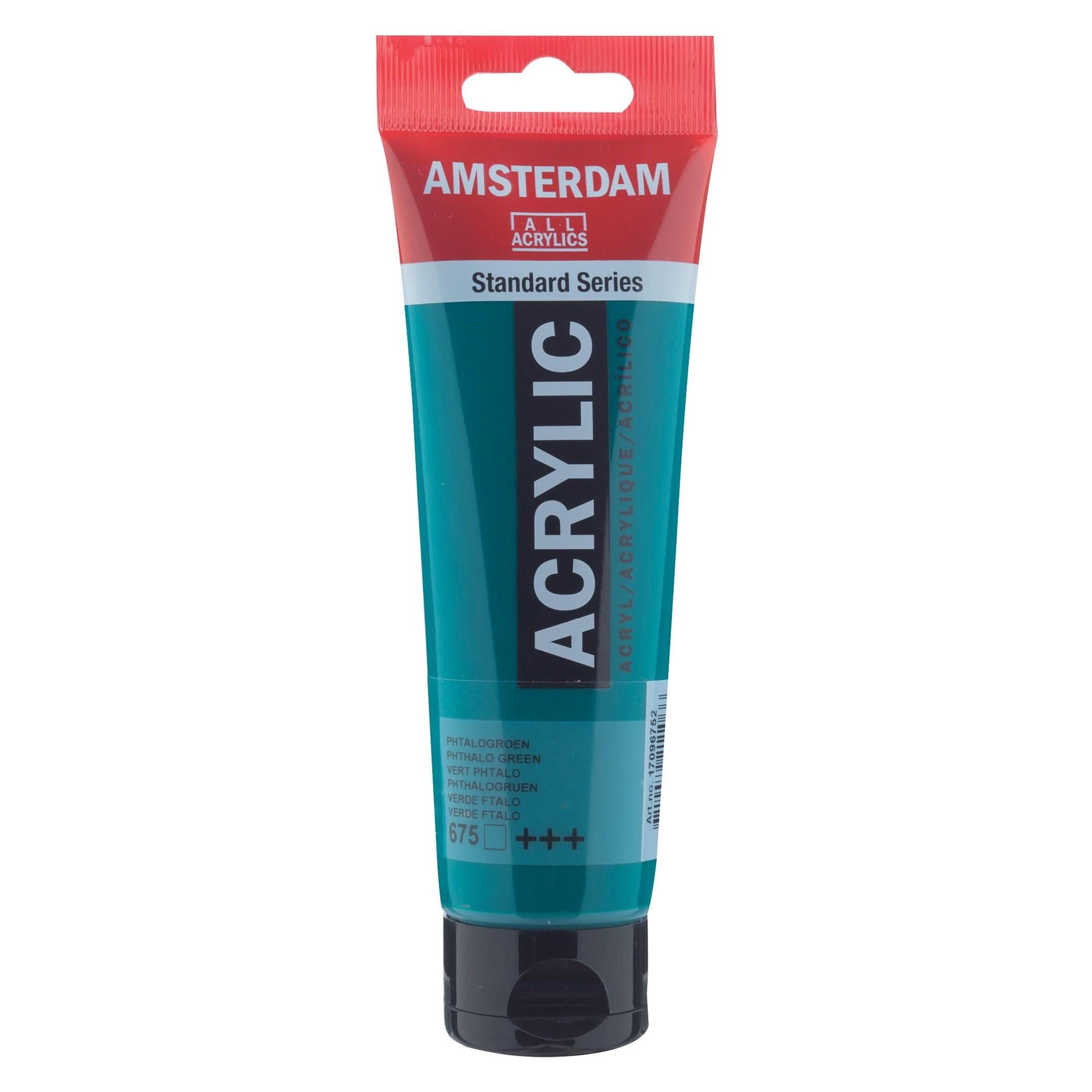 Amsterdam acrylverf Phtalogroen 675