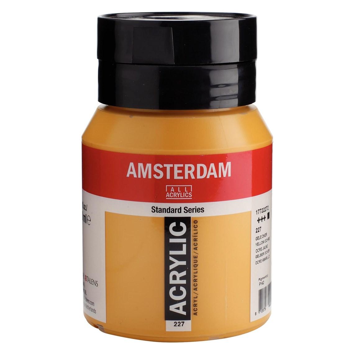 Amsterdam acrylverf Gele oker 227 Angelart Kunst en zo