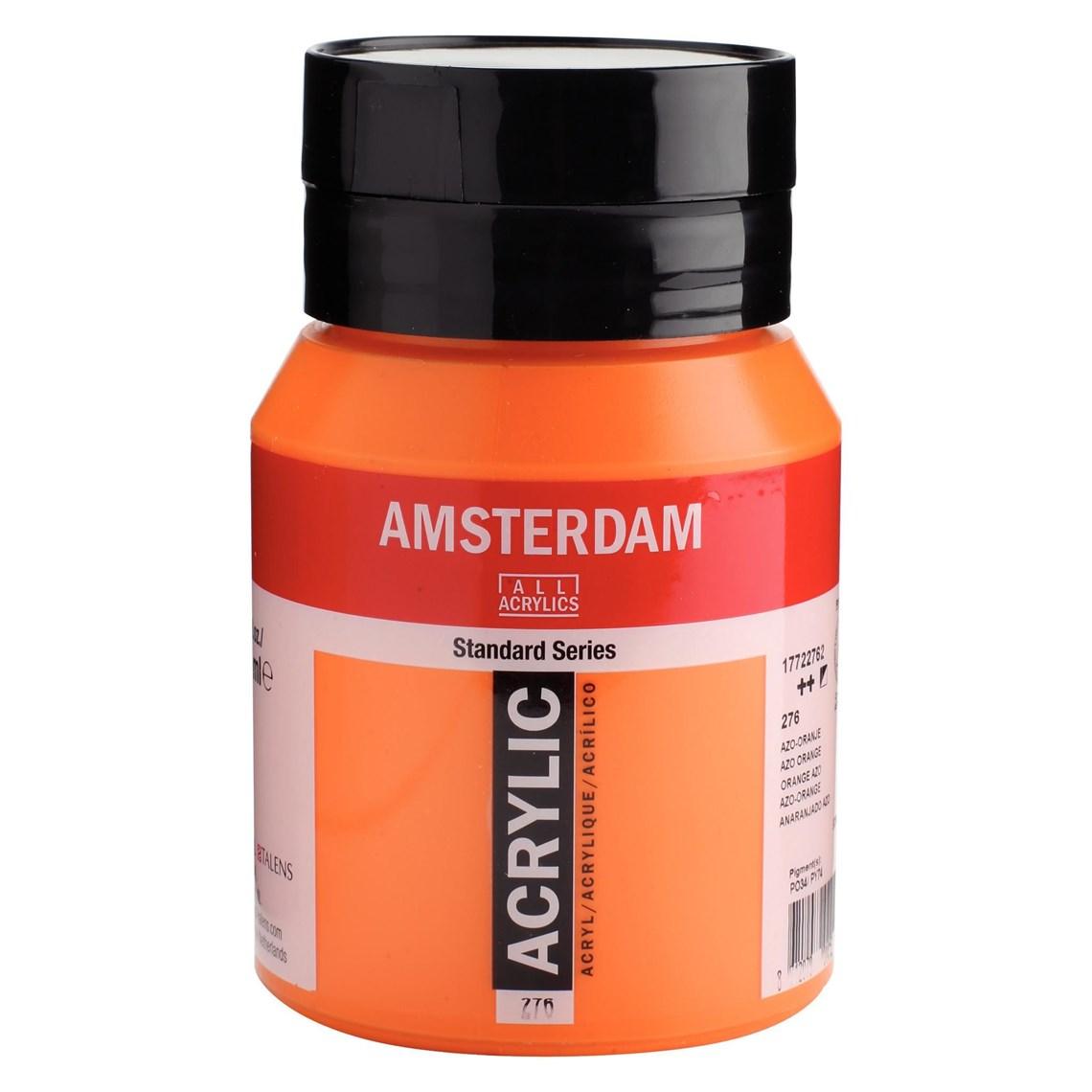 Amsterdam acrylverf Azo-oranje 276