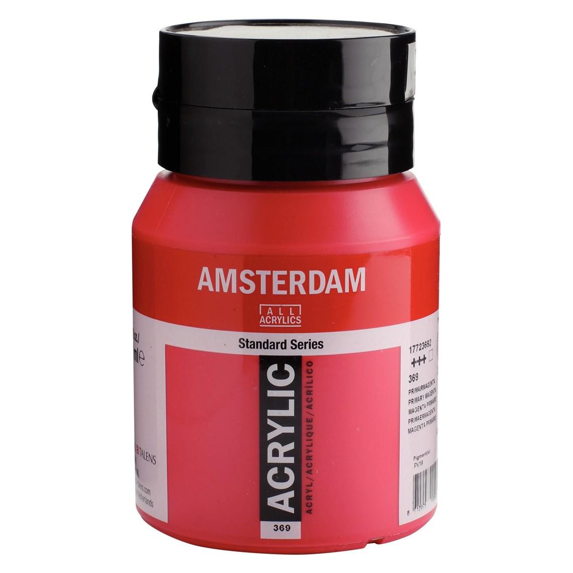 Amsterdam acrylverf Primairmagenta 369