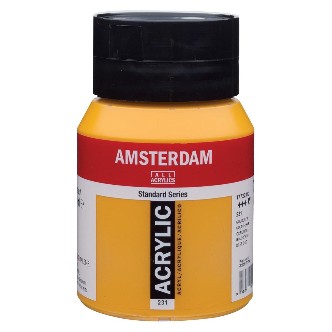 Amsterdam acrylverf Goudoker 231