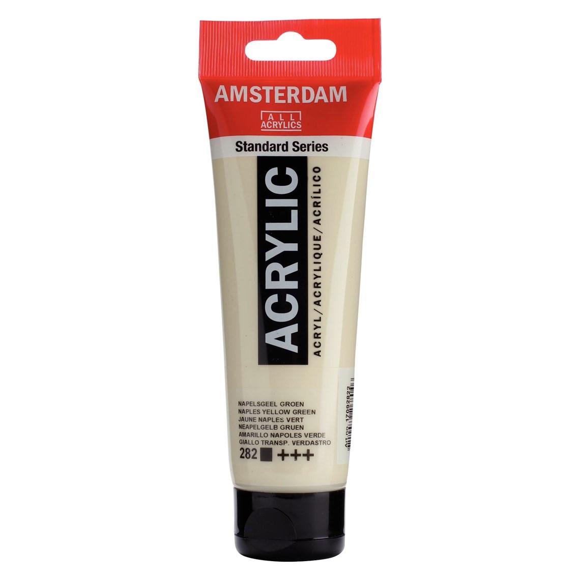 Amsterdam acrylverf Napelsgeel groen 282 Angelart Kunst en zo