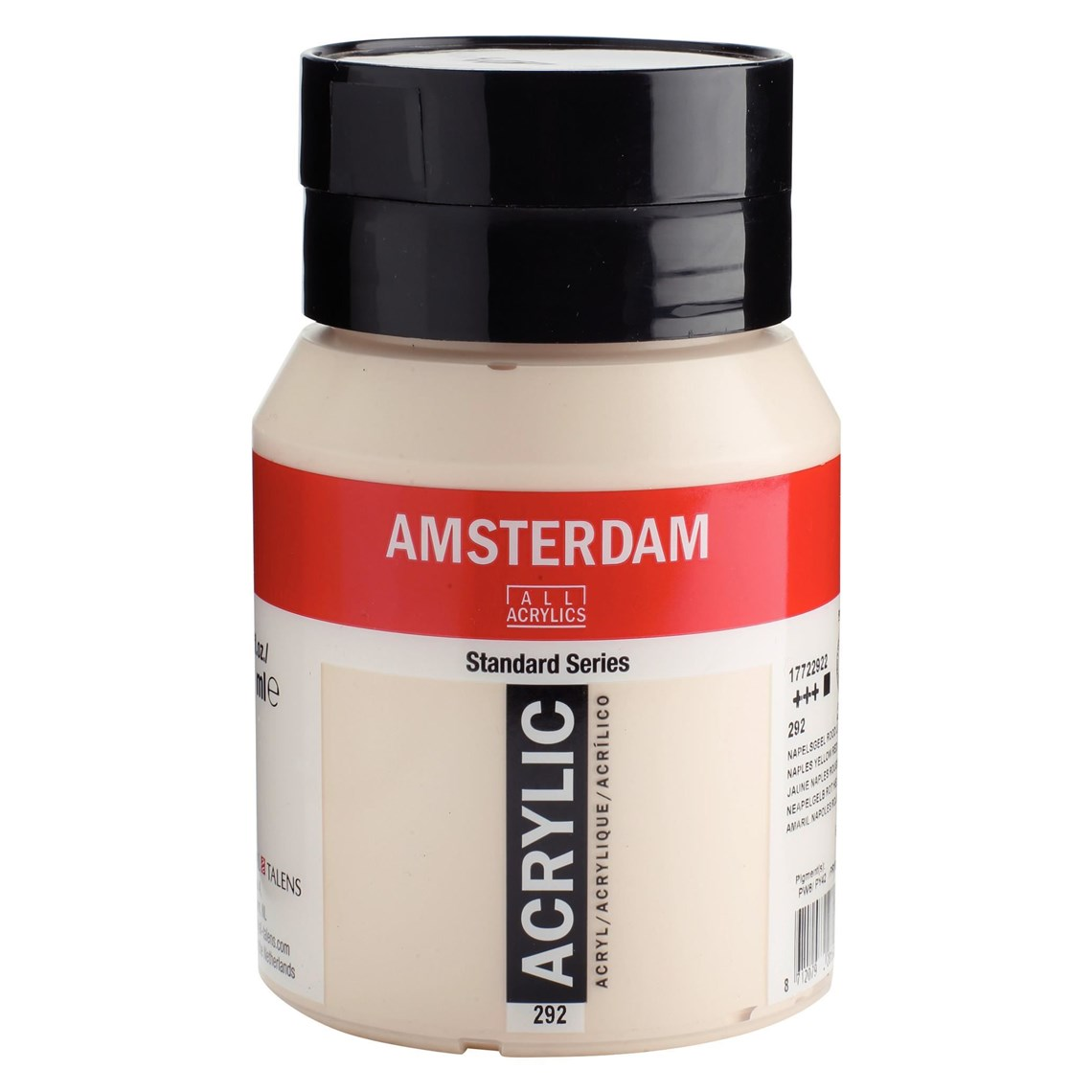 Amsterdam acrylverf Napelsgeel rood licht 292