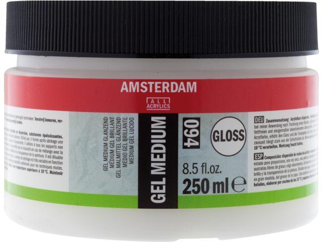 Amsterdam gel medium glanzend 250 ml
