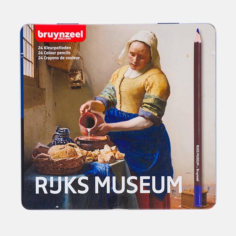 Kleurpotloden Bruynzeel Box 24 ''het melkmeisje''