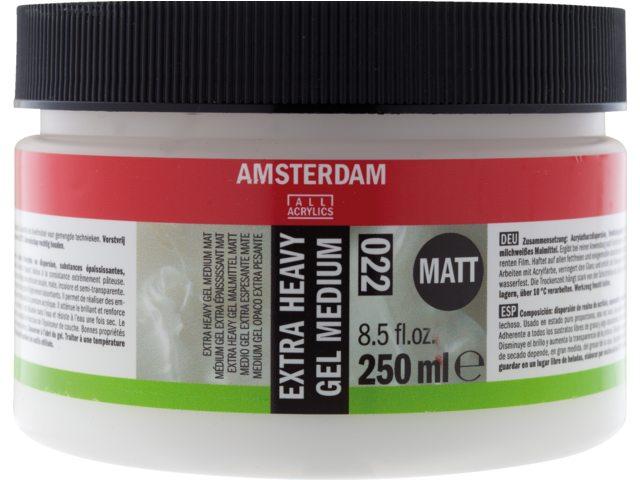Amsterdam extra heavy gel medium mat 250 ml