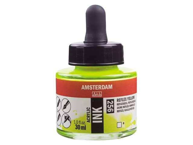 Acryl inkt Reflexgeel 256 - Amsterdam acrylic
