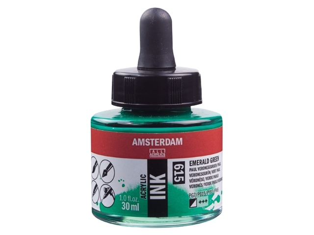 Acryl inkt Paul veronesegroen 615 - Amsterdam acrylic