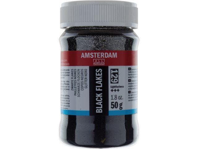Flakes zwart Amsterdam