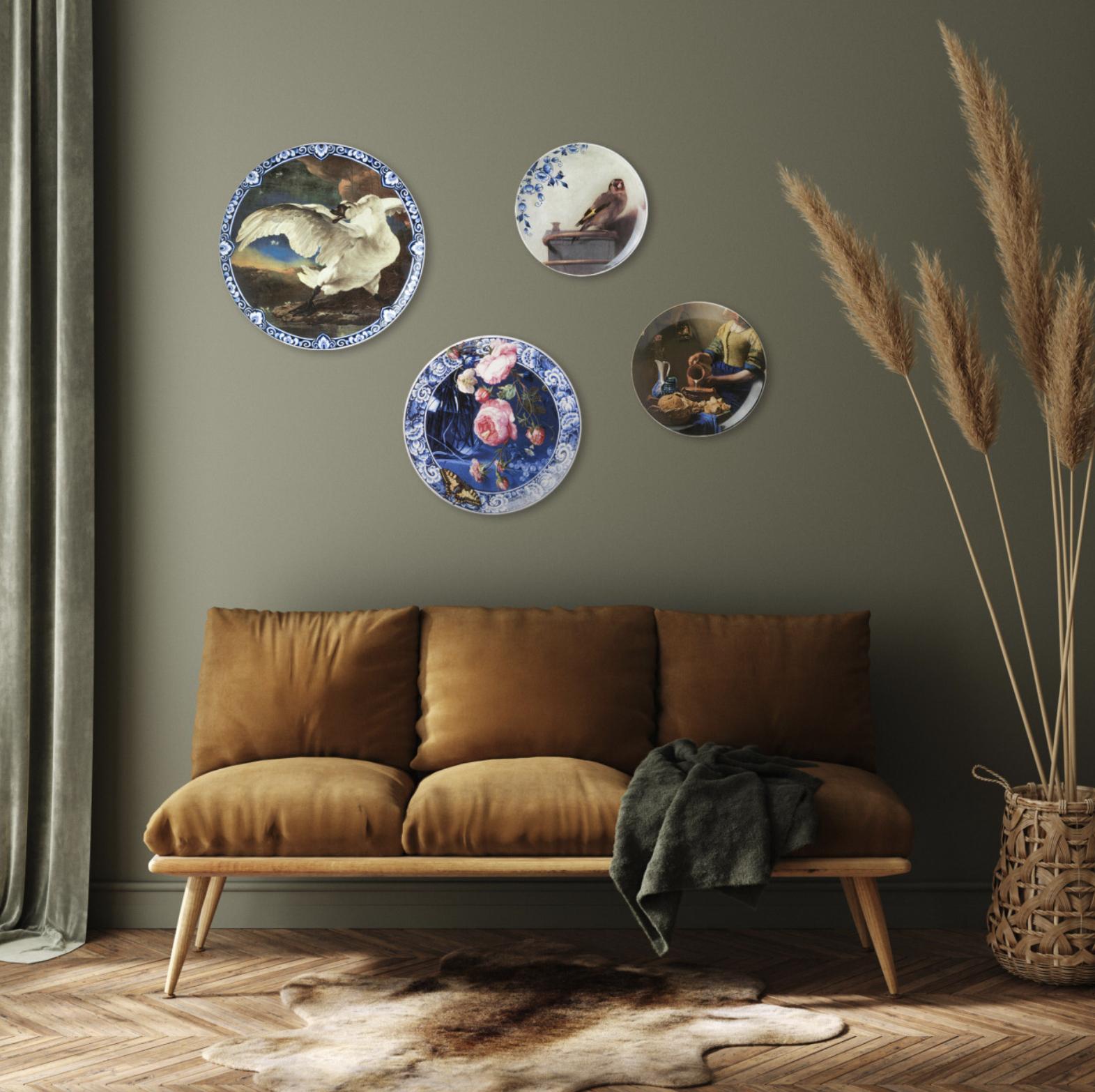 Delfts Blauw met een moderne touch! Dit design past in ieder interieur. Verkrijgbaar in meerdere varianten, combineer ze met elkaar voor een uniek effect!