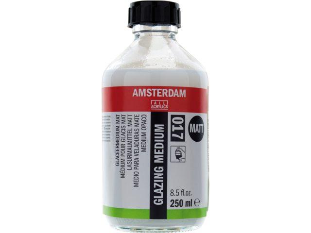 Amsterdam glaceermedium mat 250 ml fles