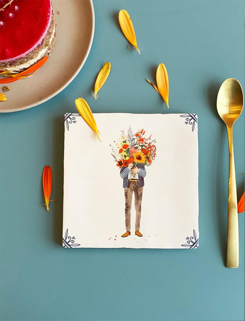 StoryTiles - ALL YOU NEED IS FLOWERS Angelart Kunst en zo