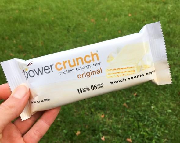 Power Crunch Bar - French Vanilla Creme
